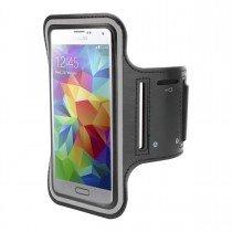 Sport armband Samsung Galaxy S5 Neo zwart