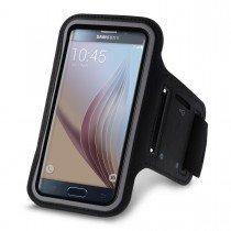Sport armband Samsung Galaxy S6 Edge Plus zwart