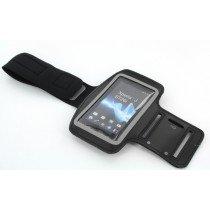 Sport armband Sony Xperia J zwart