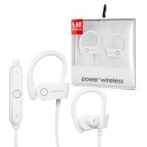 Sport Power3 Wireless Headset - wit