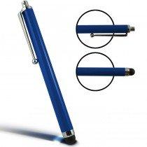 Stylus Pen capacitive blauw met clip