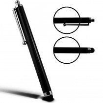 Stylus Pen capacitive zwart met clip