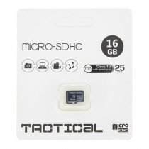 Tactical MicroSDHC kaart 16GB C10/UHS-1