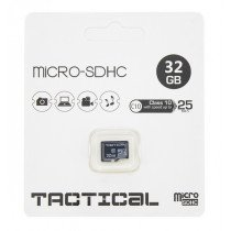 Tactical MicroSDHC kaart 32GB C10/UHS-1