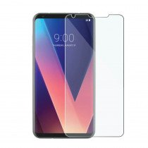 Tempered Glass Screenprotector LG V40 ThinQ