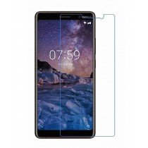 Tempered Glass Screenprotector Nokia 7 Plus