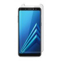 Tempered Glass Screenprotector Samsung Galaxy A8+ 2018