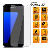 Tempered Glass Screenprotector Samsung Galaxy S7