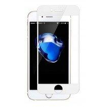 Tempered Glass (volledig scherm) Apple iPhone SE (2020) - wit