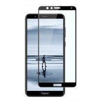 Tempered Glass (volledig scherm) Huawei Honor 7X zwart
