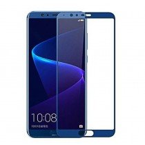 Tempered Glass (volledig scherm) Huawei Honor View 10 blauw