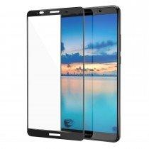Tempered Glass (volledig scherm) Huawei Mate 10 Lite zwart