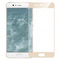 Tempered Glass (volledig scherm) Huawei P10 goud