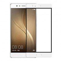 Tempered Glass (volledig scherm) Huawei P10 Lite wit