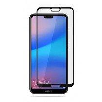 Tempered Glass (volledig scherm) Huawei P20 Lite zwart