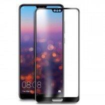 Tempered Glass (volledig scherm) Huawei P20 zwart