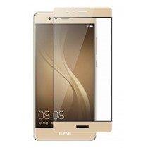 Tempered Glass (volledig scherm) Huawei P9 goud