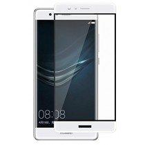 Tempered Glass (volledig scherm) Huawei P9 wit