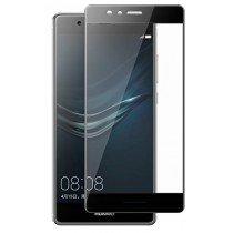 Tempered Glass (volledig scherm) Huawei P9 zwart
