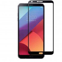 Tempered Glass (volledig scherm) LG G6 zwart