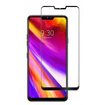 Tempered Glass (volledig scherm) LG G7 ThinQ zwart