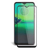 Tempered Glass (volledig scherm) Motorola Moto G8 Play zwart