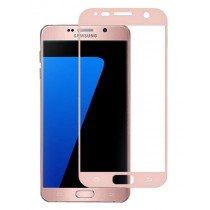Tempered Glass (volledig scherm) Samsung Galaxy S7 rose goud