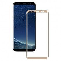 Tempered Glass (volledig scherm) Samsung Galaxy S8 goud