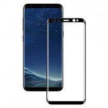 Tempered Glass (volledig scherm) Samsung Galaxy S8 Plus zwart