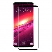 Tempered Glass (volledig scherm) Samsung Galaxy S9 Plus zwart