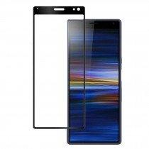 Tempered Glass (volledig scherm) Sony Xperia 10 zwart