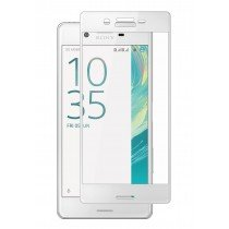 Tempered Glass (volledig scherm) Sony Xperia X wit