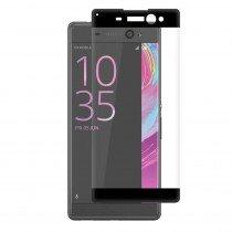 Tempered Glass (volledig scherm) Sony Xperia XA Ultra zwart