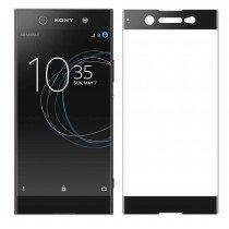 Tempered Glass (volledig scherm) Sony Xperia XA1 Plus zwart