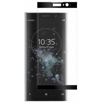 Tempered Glass (volledig scherm) Sony Xperia XA2 Plus zwart