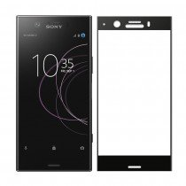Tempered Glass (volledig scherm) Sony Xperia XZ1 Compact zwart