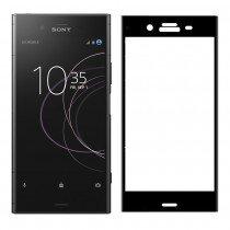 Tempered Glass (volledig scherm) Sony Xperia XZ1 zwart