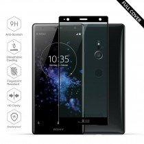 Tempered Glass (volledig scherm) Sony Xperia XZ2 zwart
