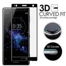 Tempered Glass (volledig scherm) Sony Xperia XZ3 zwart