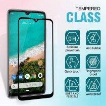 Tempered Glass (volledig scherm) Xiaomi Mi A3 zwart