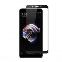 Tempered Glass (volledig scherm) Xiaomi Note 5 Pro zwart
