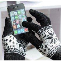 Touchscreen hand schoenen zwart