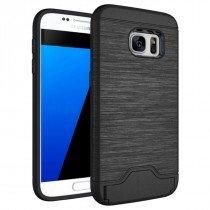 TPU card case Samsung Galaxy S7 zwart