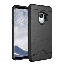 TPU card case Samsung Galaxy S9 zwart