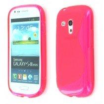 Silicon TPU case Samsung Galaxy S3 Mini i8190 roze