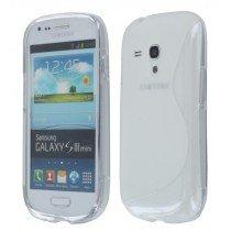 Silicon TPU case Samsung Galaxy S3 Mini i8190 transparant