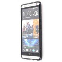Silicon TPU case HTC One Max zwart