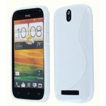 Silicon TPU case HTC One SV wit