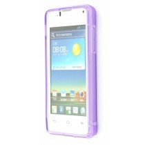 Silicon TPU case Huawei Ascend Y300 paars