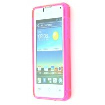 Silicon TPU case Huawei Ascend Y300 roze